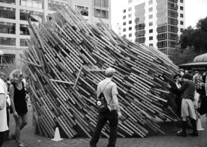 Jason Hutt's new documentary, Sukkah City, covers the 2010 architectural competition in NYC's Union Square.